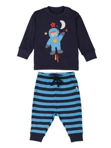 Baby boys thomas long john pjs