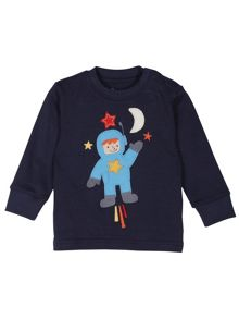Frugi Baby boys thomas long john pjs