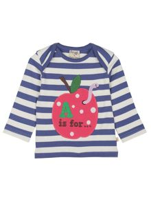 Frugi Baby girls bobby applique top