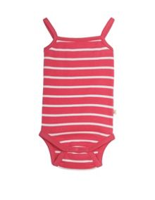 Frugi Organic Baby Girls Dora Vest Body 2 Pack