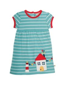 Frugi Organic Baby Girls Summer Ruby Dress