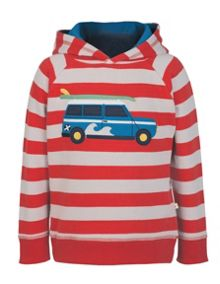 Frugi Organic Kids Boys Hedgerow Hoody