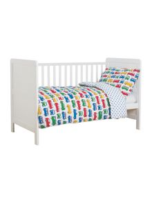 Frugi Organic Baby Boys Cot Bed Set