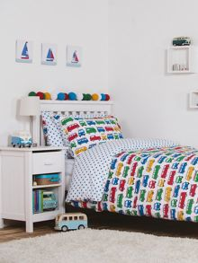 Frugi Organic Boys Single Bed Set