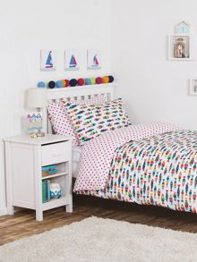Frugi Organic Kids Girls UK Single Bed Set