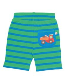 Frugi Organic Baby Boys Little Stripy Shorts