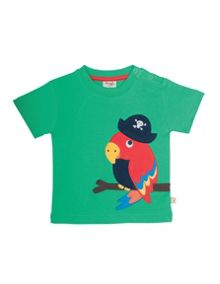 Frugi Organic Baby Boys Creature Applique T-shirt