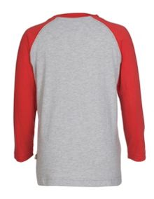 Frugi Organic Kids Boys Rock Raglan Top