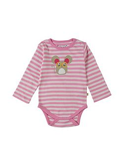 Baby Mouse-Print Cotton Body