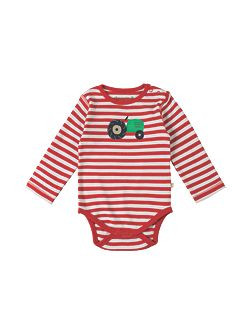Baby Tractor-Print Cotton Body