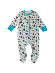 Frugi Organic Baby Lovely Cotton Babygrow