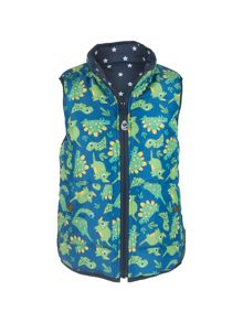 Frugi Organic Boys Adventure Reversible Gilet