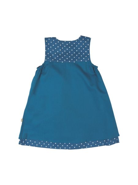 Frugi Organic Baby Girls Claire Reversible Dress