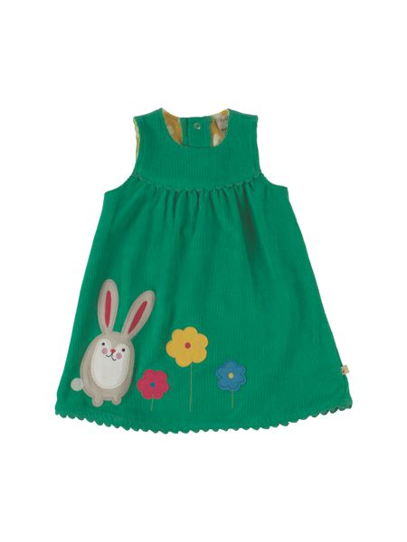 Frugi Organic Baby Girls Lily Cord Dress