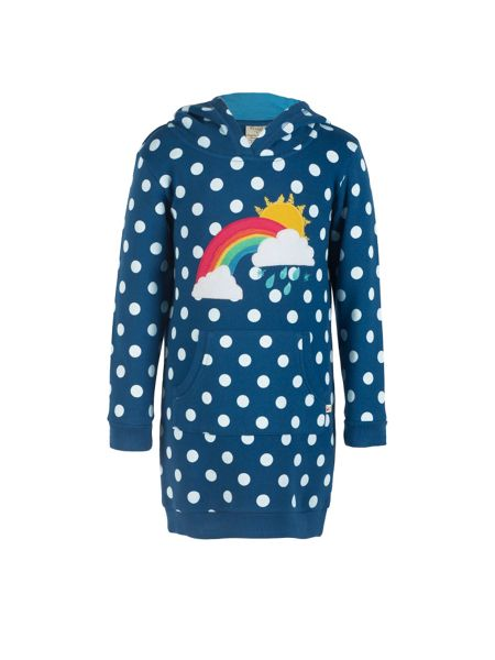 Frugi Organic Girls Harriet Hoody Dress