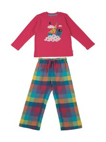 Frugi Organic Baby Girls Super PJs