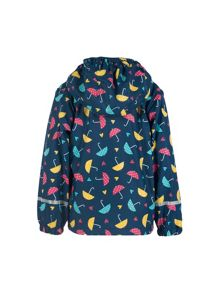 Frugi Organic Baby Girls Puddle Buster Coat