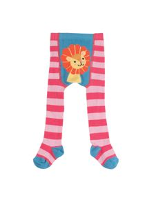 Frugi Organic Baby Girls Crawl Away Tights