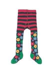 Frugi Organic Baby Girls Little Norah Tights