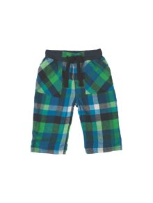 Frugi Organic Baby Boys Little Checked Snugs