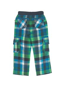Frugi Organic Baby Boys Checked Snugs
