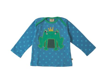 Frugi Organic Baby Boys Bobby Applique Top