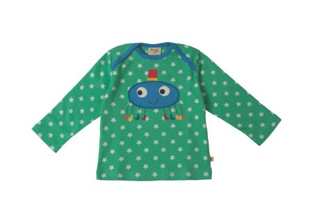 Frugi Organic Baby Bobby Applique Top