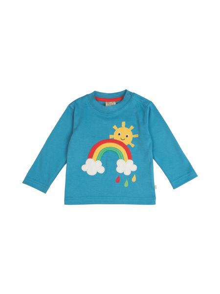 Frugi Organic Baby Little Discovery Applique Top