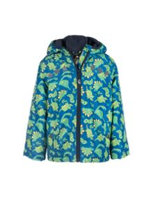 Frugi Organic Baby Boys Adventure Print Coat