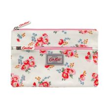 Cath Kidston Girls Floral Double Zip Pencil Case