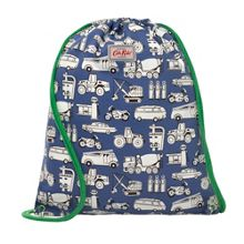 Cath Kidston Boys Car Print Draw String Bag
