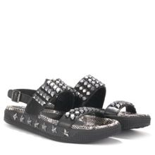 KAI cobra leather strap sandals