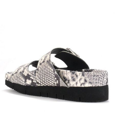 Ash Takoon platform leather snake sandals