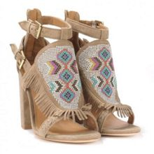 OTTAWA aztec heeled sandals