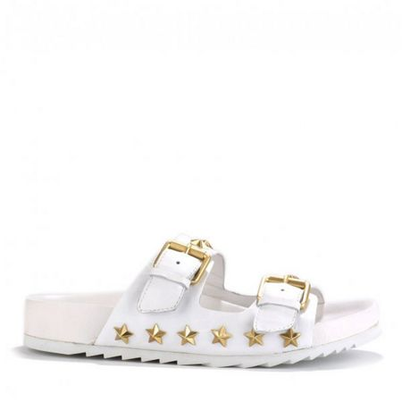 Ash United double strap leather sandals