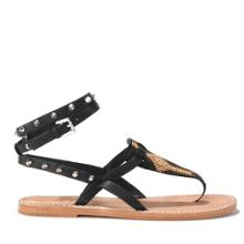 PAM leather aztec sandals