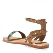 Ash PEARL aztec single strap leather sandals