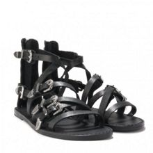 PENELOPE multi-strap leather sandals