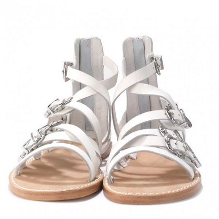 Ash PENELOPE multi-strap leather sandals