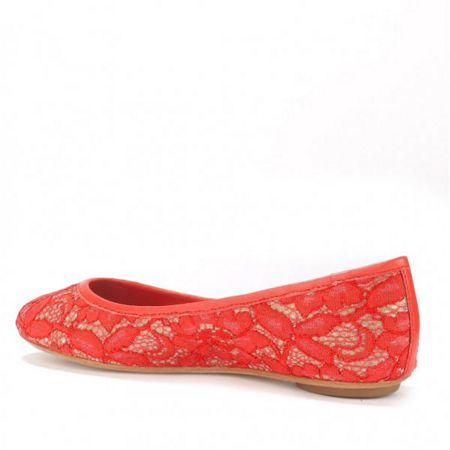 Ash IMAN flower lace leather pumps