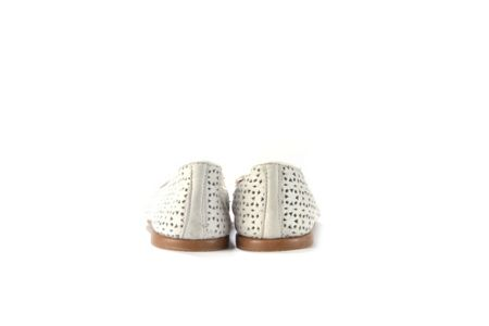 Elia B Punchy cut out leather flats