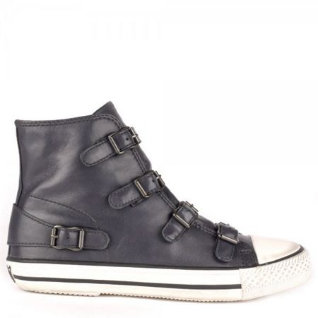 Ash Ash Virgin Leather Buckle Trainers