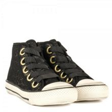 Venus leopard mesh leather trainers