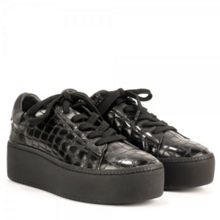 Cult bis leather platform trainers
