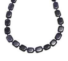 Semi- precious stone aila necklace