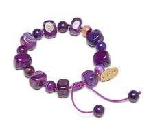 Lola Rose Sury in purple montana agate