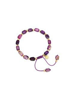 Lola Rose Starla braclet in purple montana agate