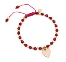 Lola Rose Queensbury Bracelet in Ruby Agate.
