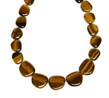 Lola Rose Quentin Necklace in Yellow Tigers Eye