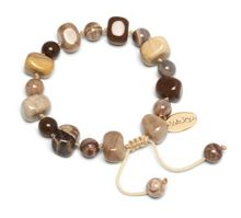 Lola Rose Sury Bracelet in Grain Agate